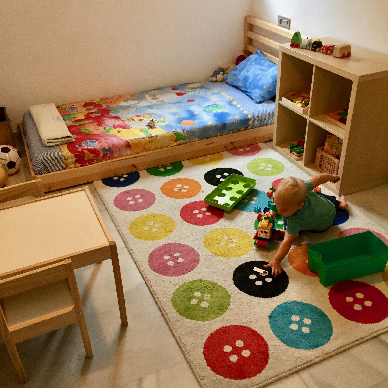 Montessori Bedroom 12 18 Months Home Tour La Tela Di Carlotta