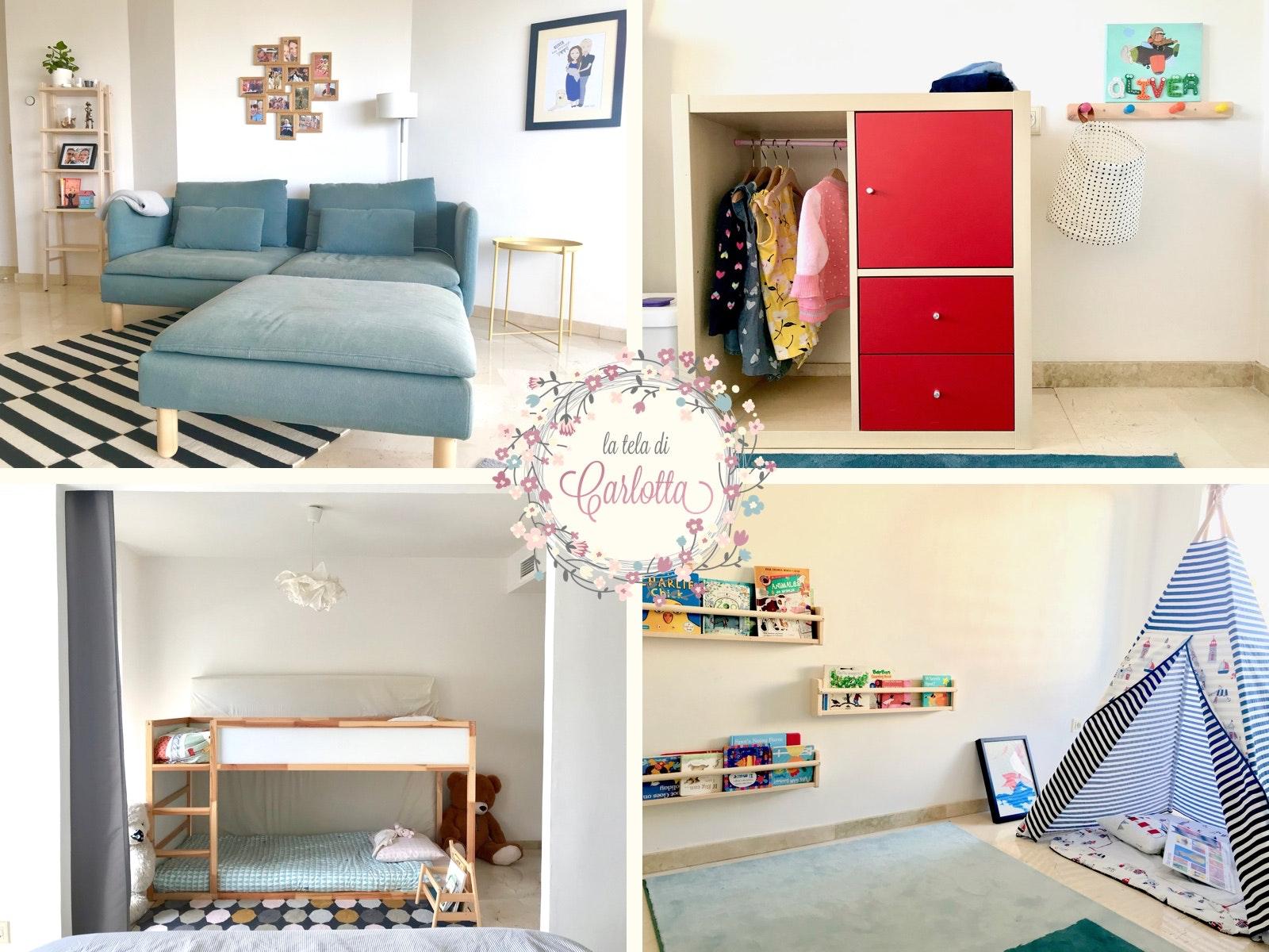 Home Tour 2018 Our New Montessori Inspired Apartment La Tela Di Carlotta